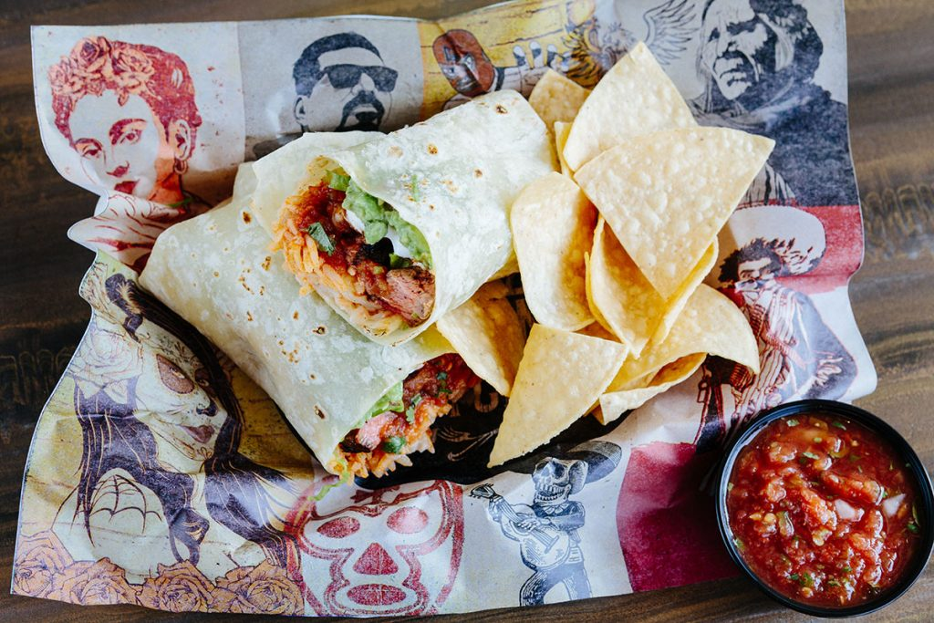 Everything Burrito from Chingon Kitchen