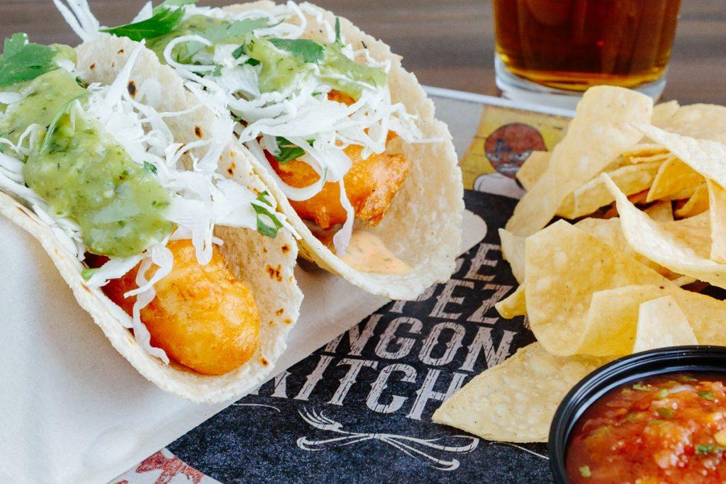 Pescado Taco from Chingon Kitchen